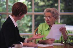 Составление завещания в доме престарелых