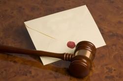 Судебное разбирательство по поводу завещания