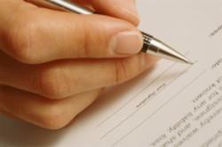 Заявление нотариусу на вступление в права владения