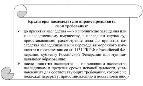 полной Монографии по ответственности наследников по долгам наследодателя длительную остановку