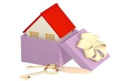 Получение дома по договору дарения
