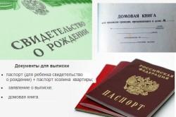 Необходимые документы для выписки из квартиры