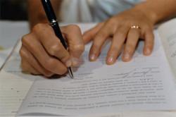 Подача искового заявления о разделе имущества